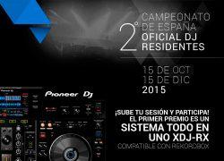 2º Campeonato de España Oficial de DJs Residentes